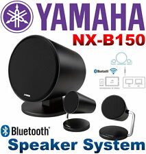 NEW Yamaha NX-B150 Black Bluetooth 2.1 CH Speaker System with Subwoofer