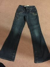 Limited Too 10 Slim Jeans Fair Condition Studs