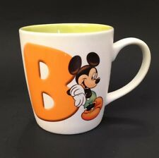 "Disneyland Resort Paris Letter Mug ""B"" Mickey Mouse"