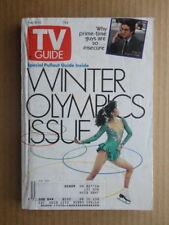 TV GUIDE magazine February 8-14 1992 WINTER OLYMPICS Pullout Guide-JOE REGALBUTO