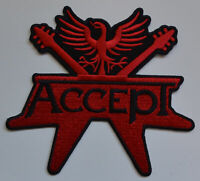 Accept - Logo Cut Out Patch Not Specification #125055