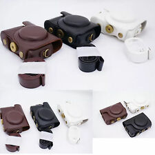 Leather Camera Case Bag for Nikon COOLPIX P300, P310, P330, P340