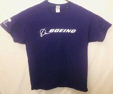 BOEING Shirt SOUTH CAROLINA Adult L Men's Airplane Purple