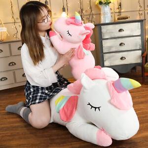 Giant Fluffy Unicorn Pegasus Gift Pony Christmas Birthday Children Stuffed Toys