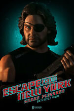 "Sideshow Exclusive Escape New York Snake Plissken 12"" Figure NIB Kurt Russell !!"