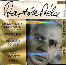 BARTOK MIRACULOUS MANDARIN PEASANT SONGS SANDOR HUNGAROTON LPX 11319 SEALED NEW