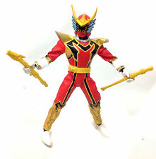 "Morphin POWER RANGERS Mystic Force 12"" toy figure with weapons VERY RARE"