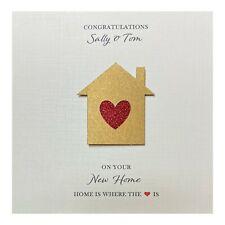 New Home Card Handmade Personalised