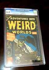 Adventures into Weird Worlds #21 Atlas STAN LEE! CGC 6.0! CREAM TO O/W PAGES