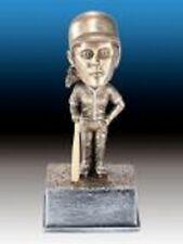 Female baseball bobblehead resin trophy (case of 12)