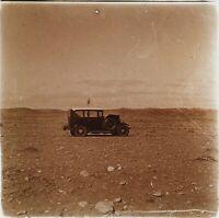 Automobile Antica Nel Deserto Tunisia Foto PL53L5n9 Stereo Placca Da Lente