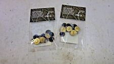 Carhartt Replacement clothing no sew work buttons 16 pcs - 2 packs of 8pcs