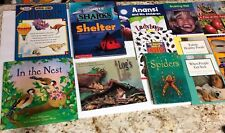 Spiders, Sharks, and more book book lot of 25