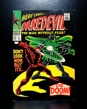 COMICS: Marvel: Daredevil #37 (1968), Dr Doom app - RARE