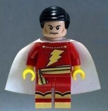 Custom Minifigure Shazam Superhero Batman Printed on LEGO Parts