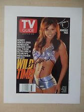 """Kimberly Page Autographed 8"""" X 10"""" Photograph"""