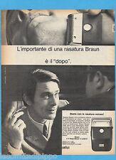 QUATTROR970-PUBBLICITA'/ADVERTISING-1970- BRAUN SIXTANT