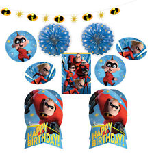 INCREDIBLES 2 ROOM DECORATING KIT (10pc) ~ Birthday Party Supplies Centerpiece