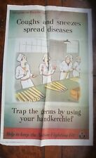 VINTAGE STYLE WWII POSTER - Ministry of Health