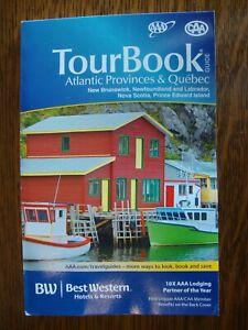 CAA AAA CANADA ATLANTIC PROVINCES & QUEBEC TourBook Travel Guide Book 2020