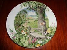 Royal Worcester Franklin Ltd Edition Collectors Plate A COUNTRY PATH IN MAY