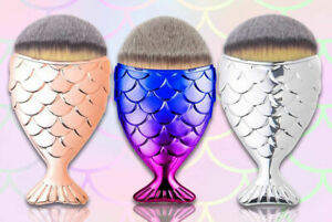 Laroc Mermaid Fish Tail Make Up Brush - Various Colours