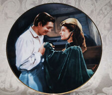 "Gone With The Wind Critics Choice Collector's Plate ""Scarlett Asks A Favor"" COA"