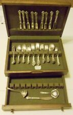 VINTAGE OR ANTIQUE GORHAM CHANTILLY STERLING SILVERWARE  62 PIECES + 3 EXTRA PCS