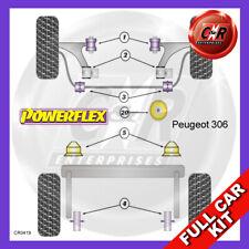 Peugeot 306 Petrol  Powerflex Complete Bush Kit