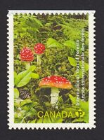 MUSHROOMS = Canada 2011 #2463 MNH = Cut from BKLT