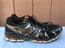 Asics Gel Νimbus 16 Men's US 13 EUR 48 T435N Black Orange Running Shoes