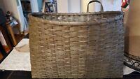 Large Vintage Hanging Basket