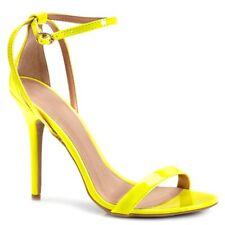 New Womens Open Toe Criss Cross Ankle Strap Stiletto High Heel Pump Sandal Shoes