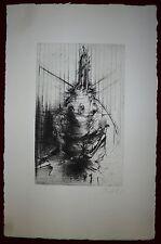 Dado Miodrag Djuric gravure originale signée 1985 art abstrait abstraction
