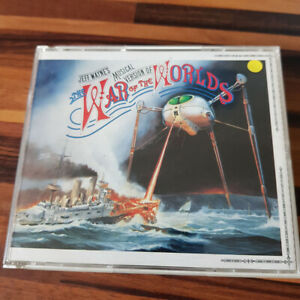JEFF WAYNE : Musical Version Of War Of The Worlds  FAT  > VG+ (2CD)