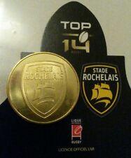monnaie de paris rugby sport top 14 STADE ROCHELAIS LA ROCHELLE   pièce dorée