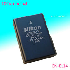New Genuine EN-EL14 battery for Nikon DF D5100 D3100 P7100 D3200 D5200 MH-24
