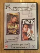 WWE Tagged Classics The Rock The Peoples Champ & Just Bring It DVD (2 Disc Set)