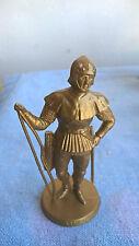 Mokarex Jeu d'échecs figurine dorée Charles le Téméraire Archer Années 60