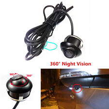 360 Degree Car Rear View Front Camera Parking Cam HD Night Vision Waterproof