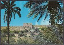 Jordanien Jordan used Post Card Postkarte Landschaft landscapeJerusalem [cm600]