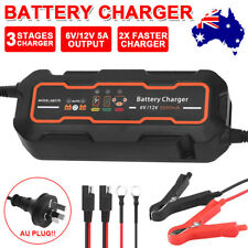 5A Smart Battery Charger 12V/6V SLA Automatic Car Motorbike Boat Deep Cycle AGM