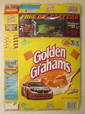 Empty GOLDEN GRAHAMS Cereal Box 2000 #92 Car STACY COMPTON 13 oz