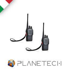 2 PZ RICETRASMITTENTE BAOFENG BF 888 S PMR RADIO UHF 400-470 MHz WALKIE TALKIE