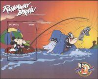 Uganda 1998 Disney/Mickey Mouse 70th/Cartoons/Animation/Films 1v m/s (b4165r)