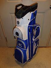 New Mizuno Elite Cart Bag (Staff Blue)