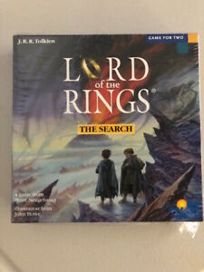Lord of the Rings The Search Board Game Rio Grande Games - New Shrinkwrap