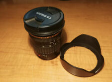 tamron 11-18mm EF Mount Aspherical for Canon with Clear UV Filter With Lens Hood