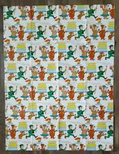 Yogi Bear Wrapping Paper Ranger Smith Boo Boo Honey Vintage 1975 Hanna Barbera