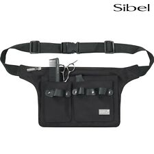 Sibel Professional Hairdressing Scissors / Tool Belt Holder Pouch Black With Zip
